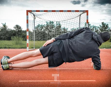 fussball krafttraining körpergewicht sideplank